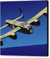 Avro Lancaster Bomber Canvas Print by Michael Tompsett