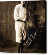 Babe Ruth, 1920 Canvas Print by Everett