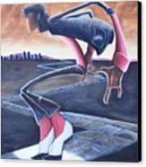 Billie Jean Canvas Print by Tu-Kwon Thomas