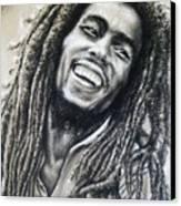 Bob Marley Canvas Print by Anastasis  Anastasi