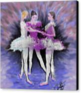 Dancing In A Circle Canvas Print by Cynthia Sorensen