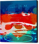 Ferrari Gto Canvas Print by Naxart Studio