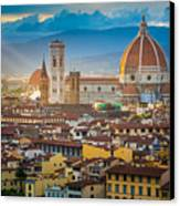 Firenze Duomo Canvas Print by Inge Johnsson