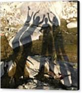 Friends Canvas Print by Julie Niemela