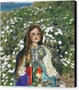 Gabriella Elizabeth Rossetti Canvas Print by Adrianne Wood