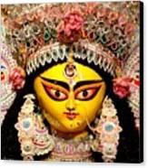 Goddess Durga Canvas Print by Chandrima Dhar