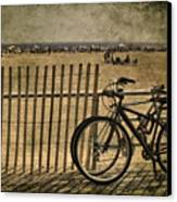 Gone Swimming Canvas Print by Evelina Kremsdorf