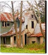 Haunted House Canvas Print by Marty Koch