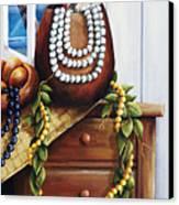 Hawaiian Still Life Panel Canvas Print by Sandra Blazel - Printscapes