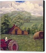 Idle In Godfrey Georgia Canvas Print by Peter Muzyka
