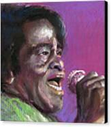 Jazz. James Brown. Canvas Print by Yuriy  Shevchuk