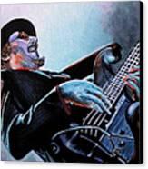 Les Claypool Canvas Print by Al  Molina