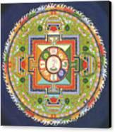 Mandala Of Avalokiteshvara           Canvas Print by Carmen Mensink