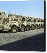 Maxxpro Mine Resistant Ambush Protected Canvas Print by Stocktrek Images