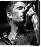 Michael Ray Canvas Print by Christopher Holmes