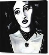 Monica Canvas Print by Scarlett Royal