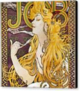 Mucha: Cigarette Papers Canvas Print by Granger