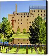 Oklahoma City National Memorial Canvas Print by Ricky Barnard