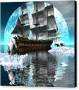 Polar Expedition Canvas Print by Claude McCoy