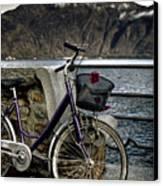 Retro Bike Canvas Print by Joana Kruse
