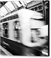 S-bahn Berlin Canvas Print by Falko Follert