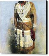 Sarah Winnemucca Canvas Print by Granger
