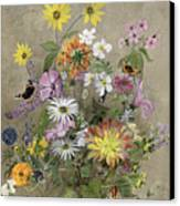 Summer Flowers Canvas Print by John Gubbins
