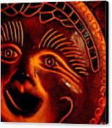 Sun Burn Canvas Print by Ed Smith