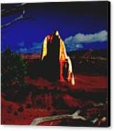 Temple Of The Moon 2 Canvas Print by John Foote
