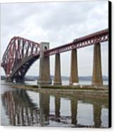 The Forth - Scotland Canvas Print by Mike McGlothlen