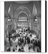 The Metropolitan Museum Of Art Canvas Print by Mike McGlothlen