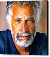 The Most Interesting Man In The World Canvas Print by Debora Cardaci