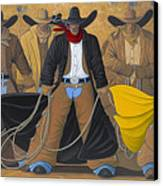 The Posse Canvas Print by Lance Headlee