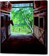 Water's Edge Farm Canvas Print by Jack Skinner