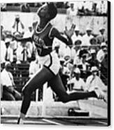 Wilma Rudolph (1940-1994) Canvas Print by Granger