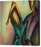 X Canvas Print by Michael Lang