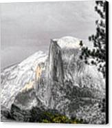 Yosemite Half Dome Canvas Print by Chuck Kuhn
