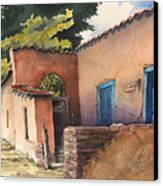 1247 Agua Fria Street Canvas Print by Sam Sidders