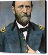 Ulysses S. Grant (1822-1885) Canvas Print by Granger