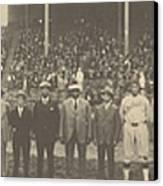 1924 Negro League World Series. Players Canvas Print by Everett