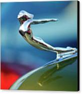 1936 Cadillac Hood Ornament 2 Canvas Print by Jill Reger