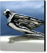 1941 Cadillac Emblem Abstract Canvas Print by Peter Piatt
