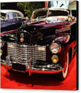 1941 Cadillac Series 62 Convertible Coupe . Front Angle Canvas Print by Wingsdomain Art and Photography