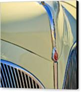 1941 Lincoln Continental Cabriolet V12 Grille Canvas Print by Jill Reger
