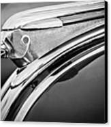 1948 Pontiac Chief Hood Ornament 2 Canvas Print by Jill Reger