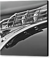 1949 Plymouth Hood Ornament 2 Canvas Print by Jill Reger