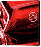 1963 Chevrolet Impala Ss Red Canvas Print by Gordon Dean II