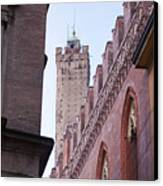 Bologna Tower Canvas Print by Andre Goncalves
