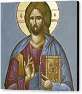 Christ Pantokrator Canvas Print by Julia Bridget Hayes