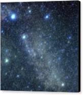 Cygnus Constellation Canvas Print by John Sanford